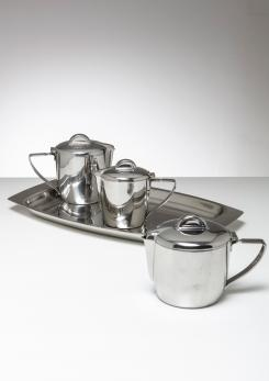 Compasso - Steel Set by Gio Ponti for Calderoni