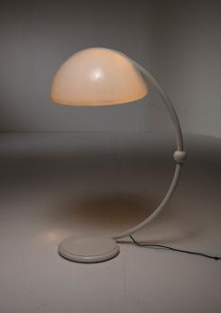 "Compasso - Pair of ""Serpente"" Floor Lamps by Elio Martinelli for Martinelli Luce"
