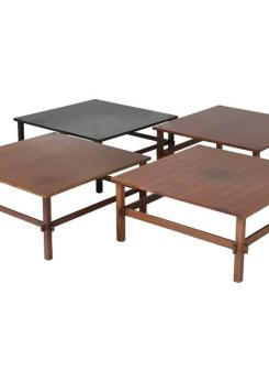 Compasso - Set of Three Coffee Tables Model 740 by Gianfranco Frattini for Cassina
