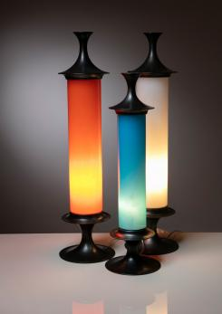 Compasso - Set of Three 60s Table Lamps