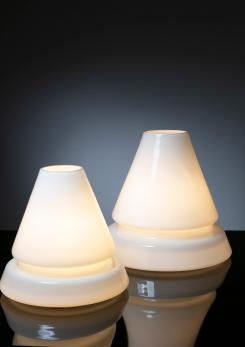 Compasso - Pair of Murano Glass Table Lamps