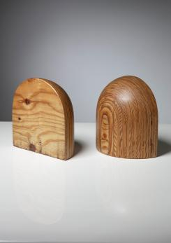 Compasso - Pair of Bookends by Pino Pedano