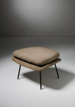 Compasso - Womb Chair Ottoman by Eero Saarinen for Knoll