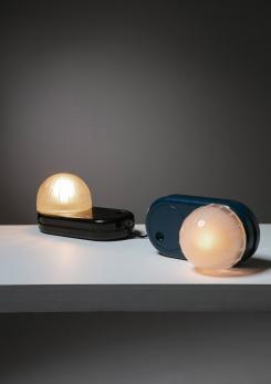 "Compasso - Pair of ""Farstar"" Table Lamps by Adalberto Dal Lago for Francesconi"