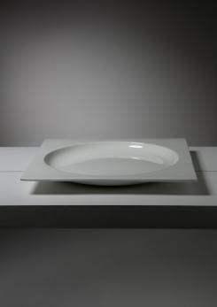 Compasso - Large Ceramic Centerpiece by Zanolli and Sebellin