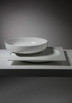 Compasso - Large Ceramic Centerpiece by Pompeo Pianezzola for Zanolli and Sebellin