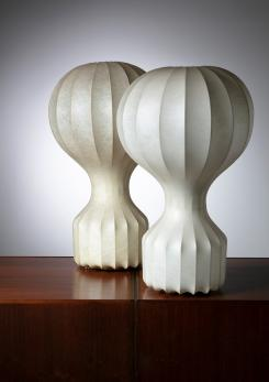 "Compasso - Pair of ""Gatto"" Table Lamps by Castiglioni for Flos"