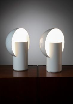 Compasso - Pair of Metal Table Lamps