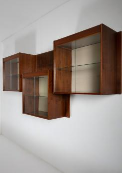 Compasso - Set of Three Wall Cabinets