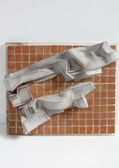 Compasso -  Ceramic Artwork by Carlo Zauli