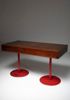 Compasso - Italian 1960s Wood Desk