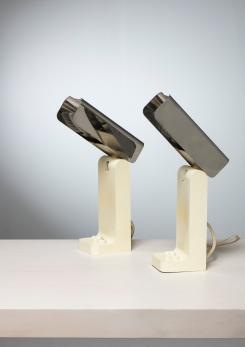 "Compasso - Pair of ""Vademecum"" Table Lamps by Joe Colombo for Kartell"