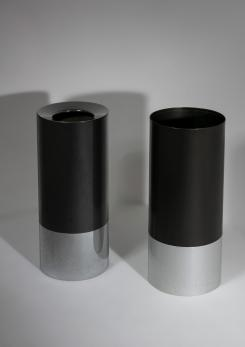 "Compasso - Pair of ""Cartuccia"" Umbrella Stands by Caccia Dominioni for Azucena"