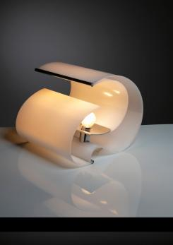 Compasso - Pair of Plexiglass Table Lamps by Franco Mazzucchelli for Stilnovo