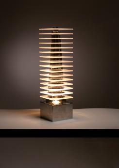 "Compasso - ""Ziggurat"" Table Lamp by Fabrizio Cocchia for New Lamp"