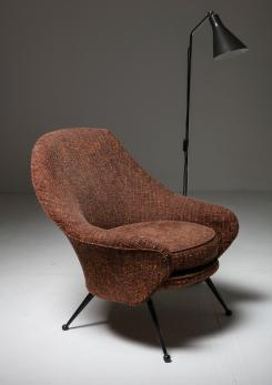 "Compasso - ""Martingala"" Lounge Chair by Marco Zanuso for Arflex"