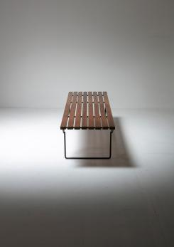 Compasso - 60s Bench in the style of Harry Bertoia
