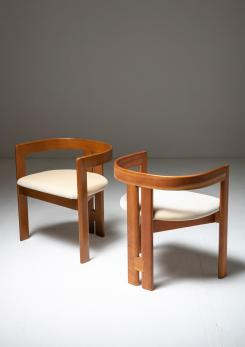 "Compasso - Set of Two ""Pigreco"" Chairs by Tobia Scarpa for Gavina"