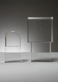 Compasso - Plexiglass Sculpture by Alessio Tasca for Fusina