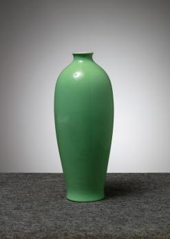 Compasso - Tall Ceramic Vase by Giovanni Gariboldi for San Cristoforo - Richard Ginori