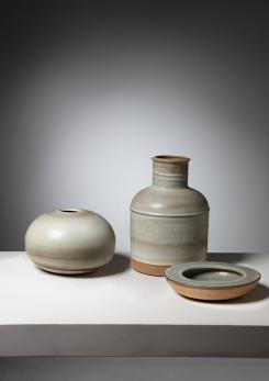 Compasso - Set of Three Ceramic Pieces by Nanni Valentini for Ceramica Arcore