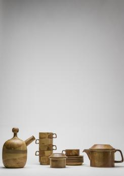 Compasso - Compact Tea Set by Ambrogio Pozzi