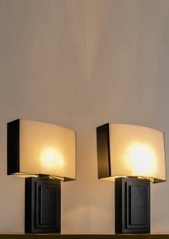 Compasso - Pair of Italian 1970s Table Lamps