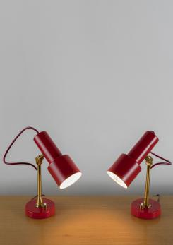 Compasso - Pair of Table Lamps by Stilux