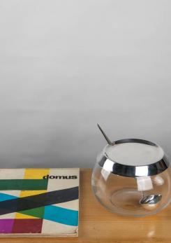 Compasso - Bowl and Ladle by Lino Sabattini for Sabattini Argenteria