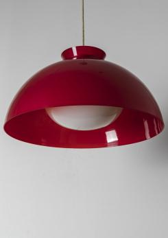 "Compasso - Set of Five ""KD 6"" Pendant Lamps by Castiglioni for Kartell"