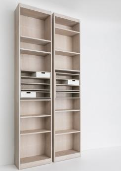 "Compasso - Set of Four ""Rialto"" Bookcases by Carlo Scarpa for Simon Gavina"