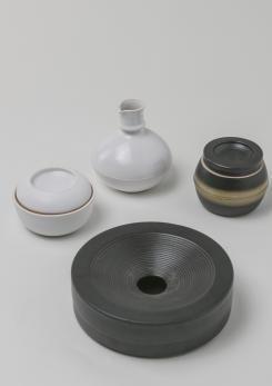 Compasso - Set of Four Ceramic Pieces by Franco Bucci for Laboratorio Pesaro