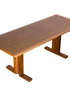 "Compasso - Marvellous ""Rocco"" Wood Desk by Roberto Pamio for Peguri"