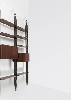 Compasso - Lb7 Bookcase by Franco Albini for Poggi