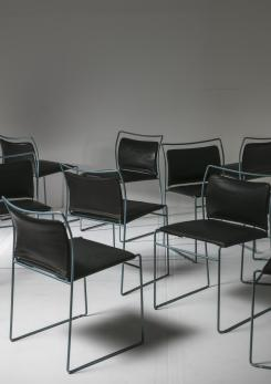 "Compasso - Set of 10 ""Tulu"" Chairs by Kazuhide Takahama for Simon Gavina"