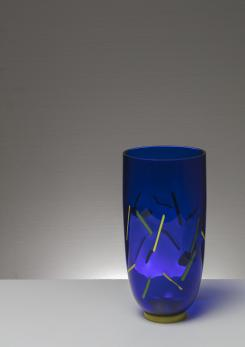 Compasso - Post Modern Murano Glass Vase by Barovier and Toso