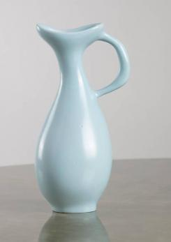 "Compasso - Ceramic Vase Model ""C8"" by Antonia Campi for S.C.I. Laveno"