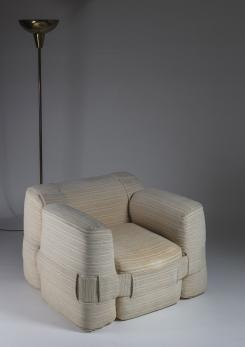 "Compasso - ""932"" Lounge Chair by Mario Bellini for Cassina"