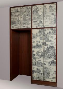 Compasso -  Early 60s One-Off Wardrobe by Piero Fornasetti