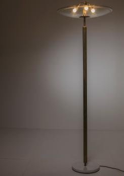Compasso - Italian 40s Floor Lamp Attributed to Pietro Chiesa