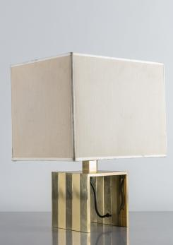 Compasso - Italian 1970s Brass Table Lamp by F.lli Martini