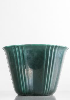 Compasso - Ceramic Cachepot by Guido Andloviz for S.C.I. Laveno