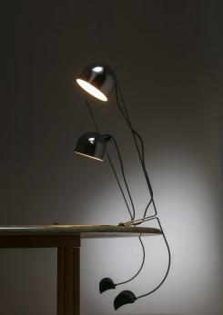 Compasso - Pair of Italian 1970s Table Lamps by Vid Bratasevec for Lumenform