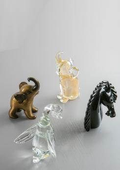 Compasso - Murano Glass Animals by Archimede Seguso