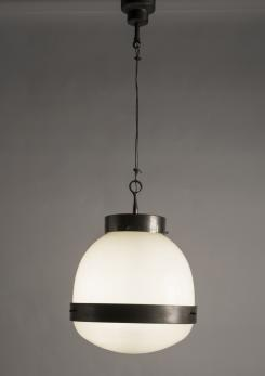 "Compasso - Big ""Delta"" Suspension by Sergio Mazza for Artemide"