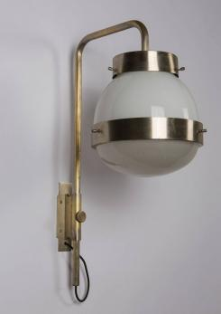 "Compasso - Pair of ""Delta"" Sconces by Sergio Mazza for Artemide"