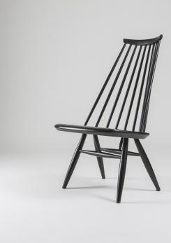 "Compasso - Pair of ""Mademoiselle"" Lounge Chairs by Ilmari Tapiovaara for Asko"