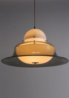 "Compasso - Rare ""KD14"" pendant lamp by Sergio Asti for Kartell"