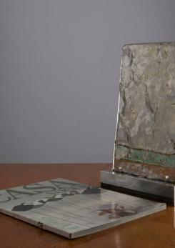 Compasso - Vetrate Grossa Glass Sculpture by Gio Ponti
