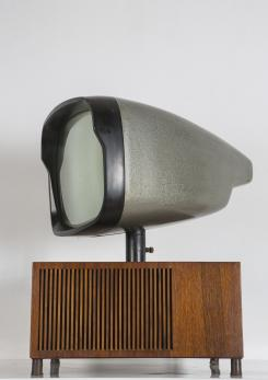 "Compasso - Rare ""17/18"" Television by Berizzi, Butté, Montagni for Phonola"